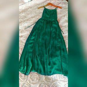 Urban Outfitters Green Midi Dress